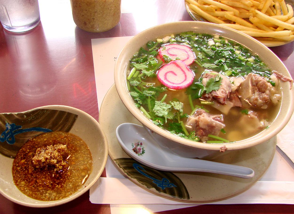 Asahi Grill – Oxtail Ramen (actually more like Oxtail Saimin) $8.95