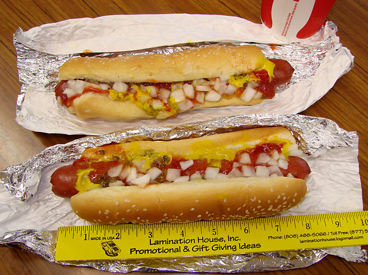 Calories In A Costco Hot Dog With Bun