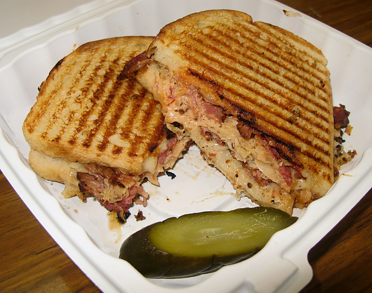 Eat Catering & Cafe – Reuben Pastrami Panini, with Russian Dressing ...