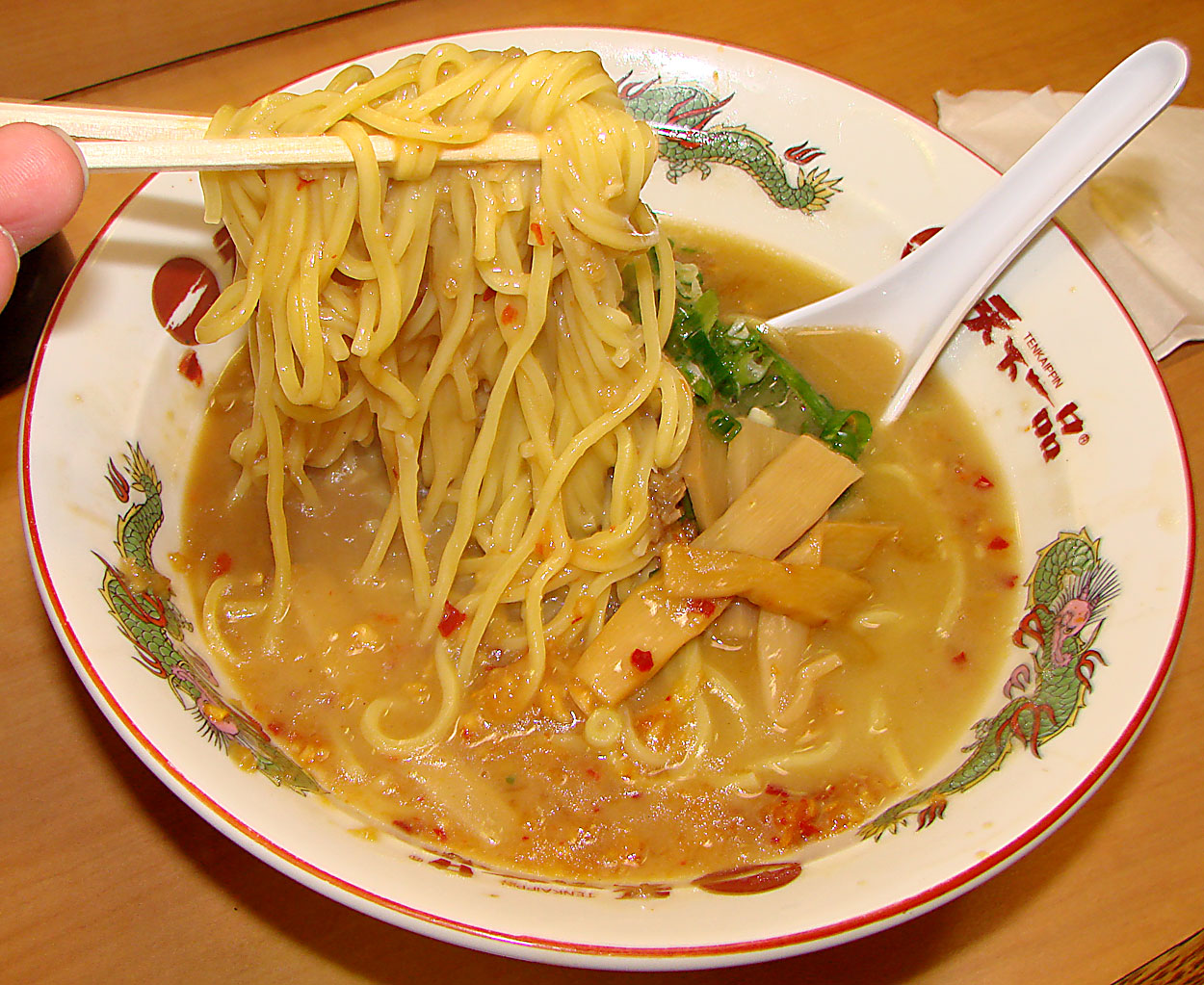 "recipe kotteri ramen base chicken Tenkaippin soup – Ramen Ramen: Assari with ""Healthy"