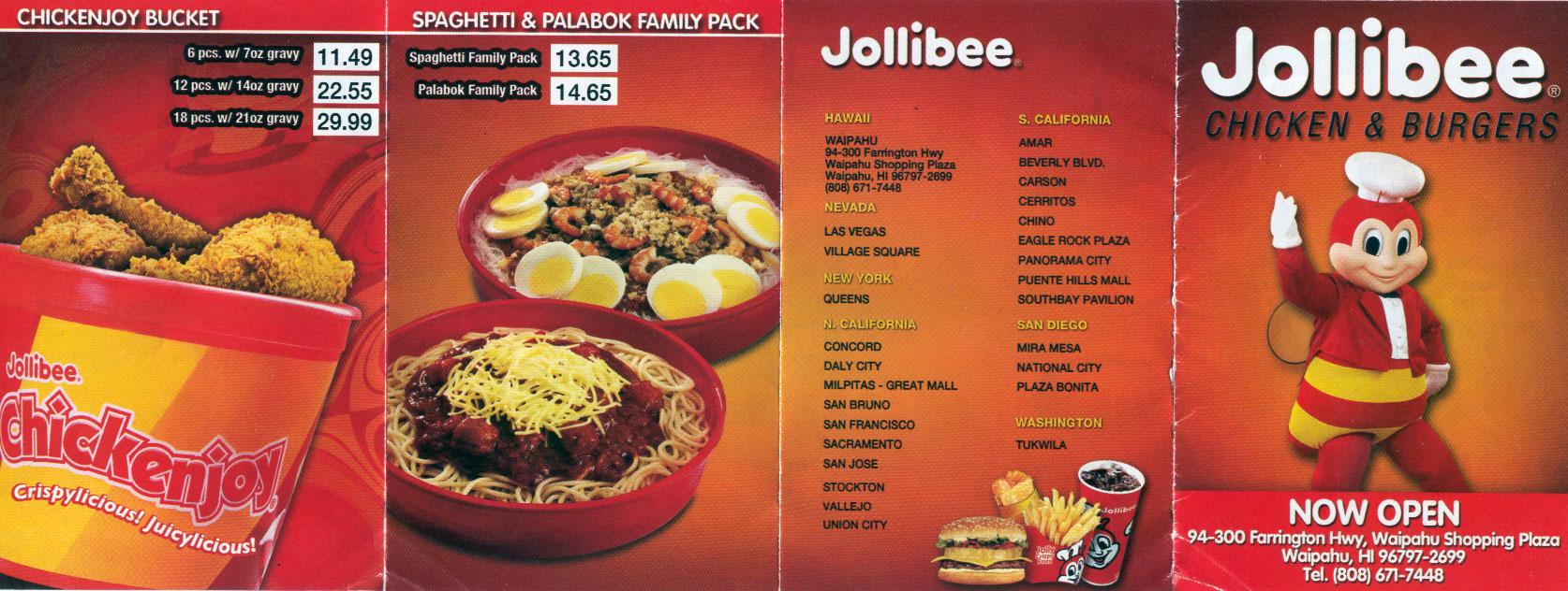 First Byte: Jollibee in Waipahu – Tasty Island
