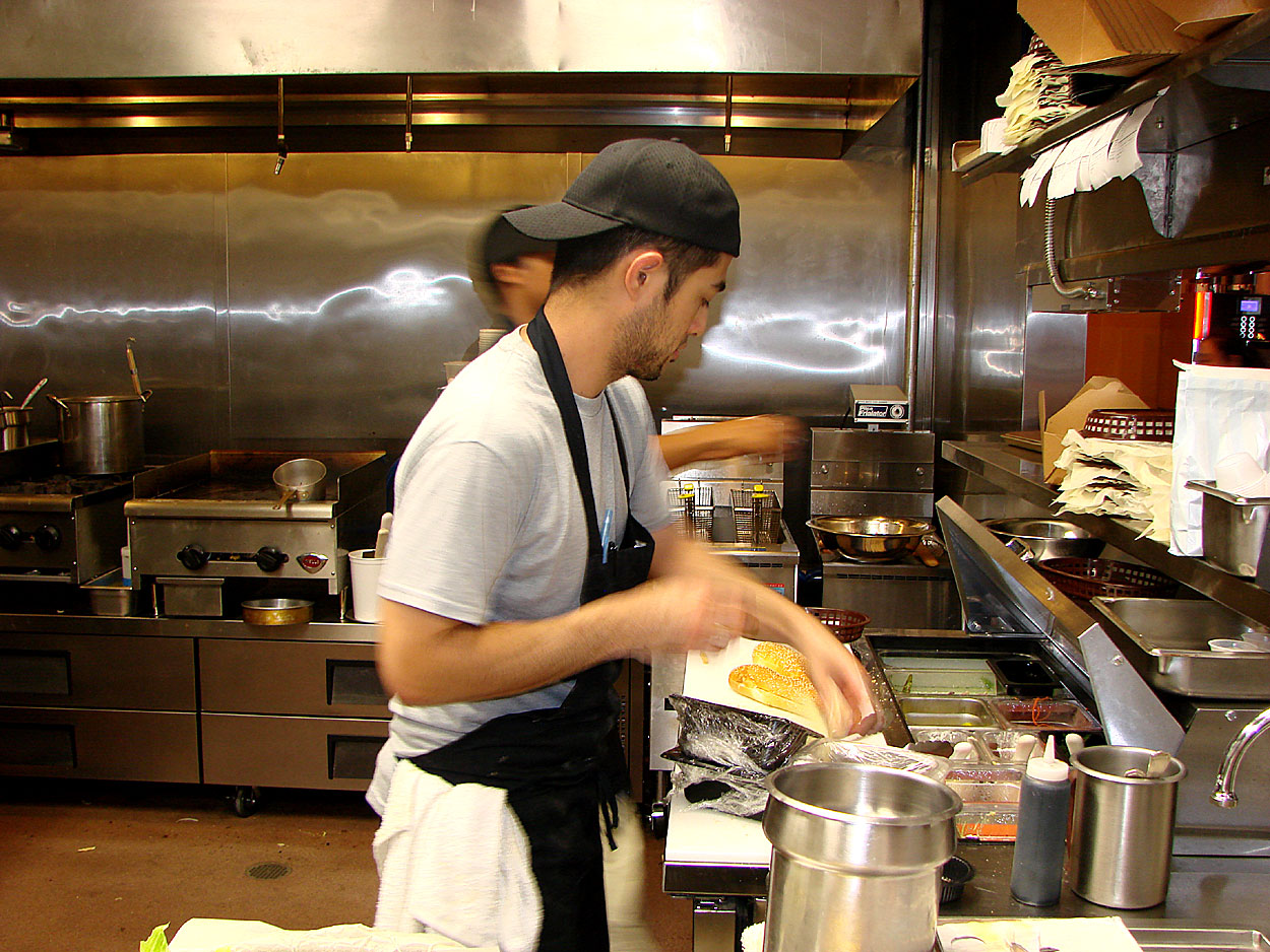 Catch new york open kitchen on a busy night youtube