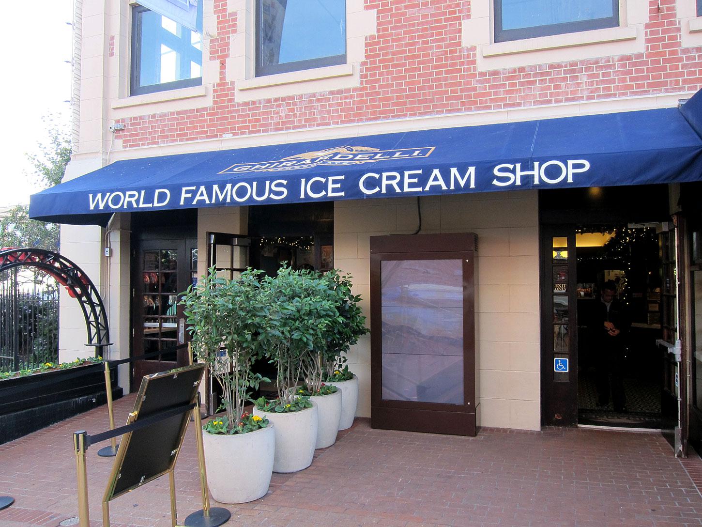 Ghirardelli Square Ice Cream Menu The Ghirardelli Ice Cream