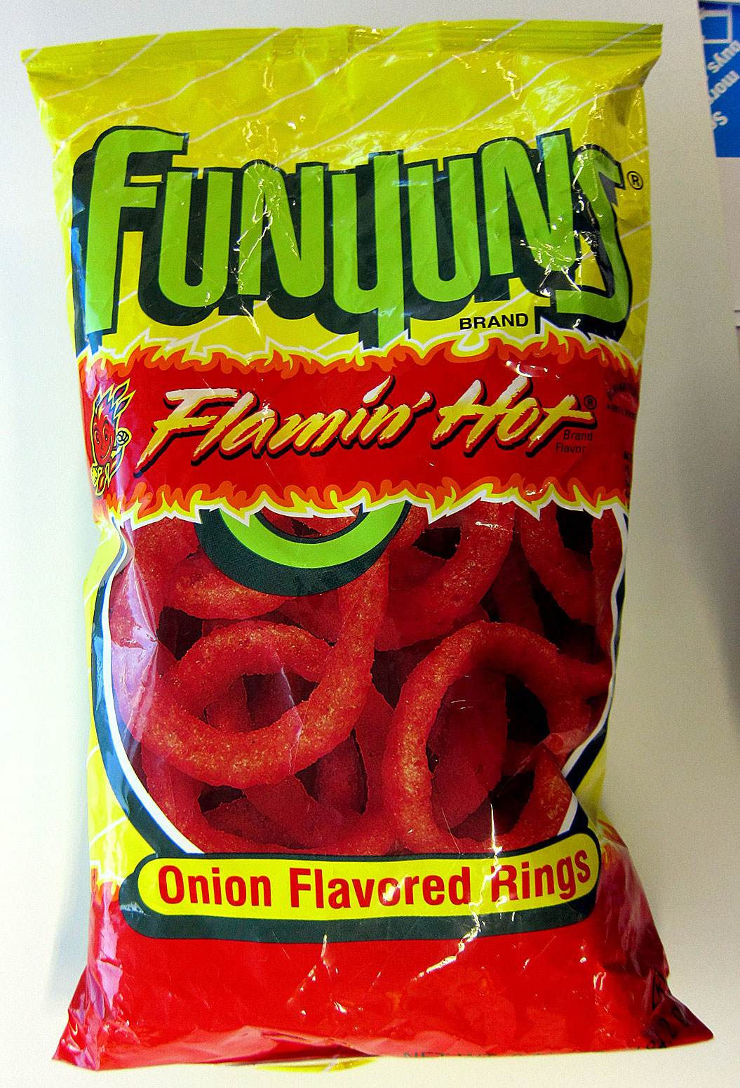 Spicy Onion Rings Chips