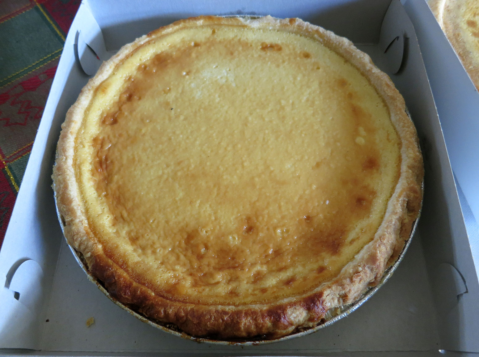 Lee's Bakery (King Street, Chinatown Honolulu) famous Custard Pie
