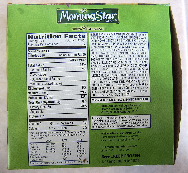 Costco Eats: MorningStar Farms Chipotle Black Bean Veggie