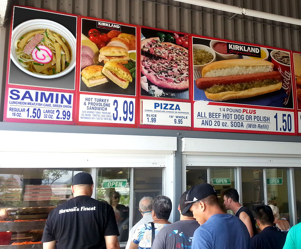 Costco Food Court Honolulu Summer '14 Update | The Tasty Island