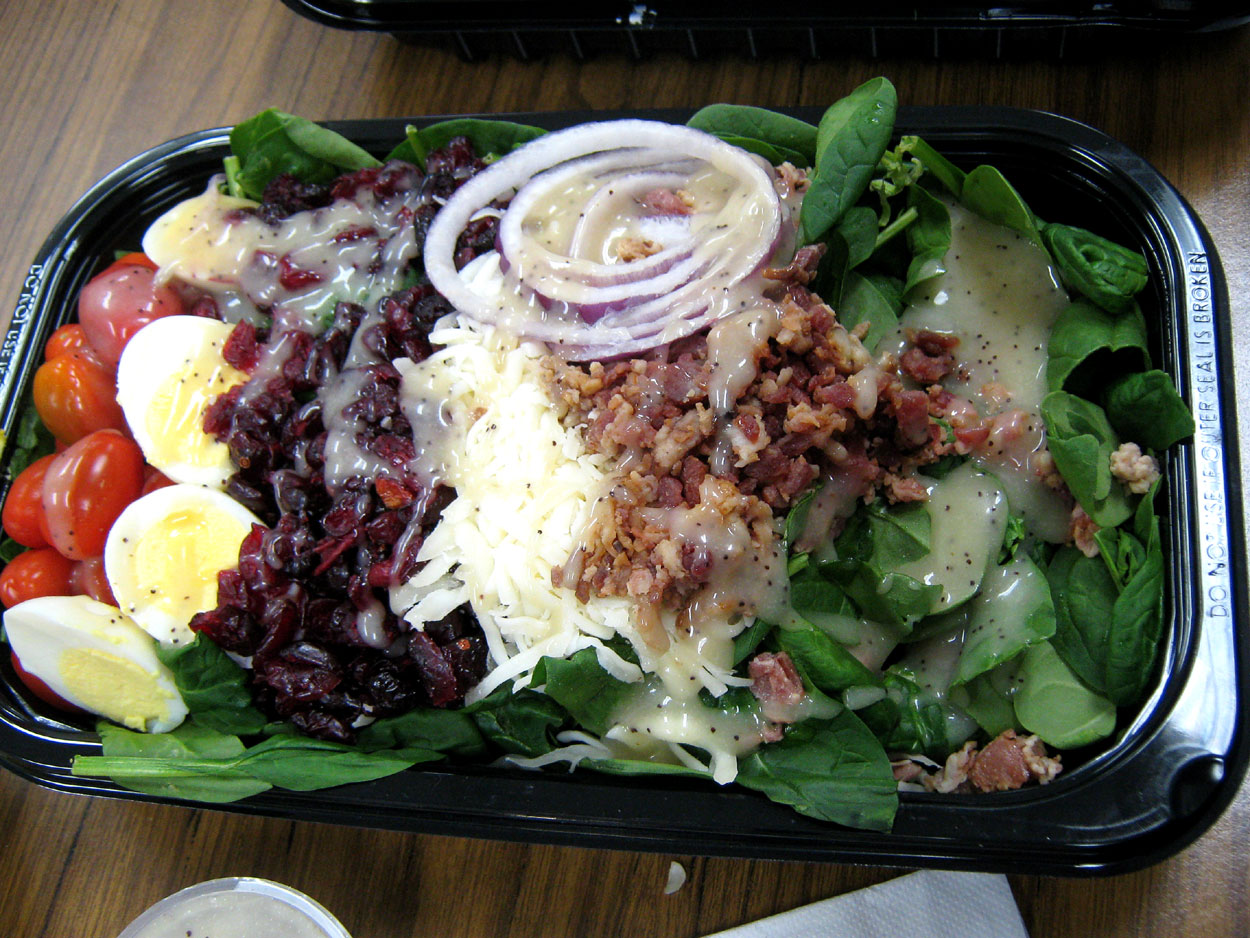 Costco Greek Salad (did we say we love Costco?)…
