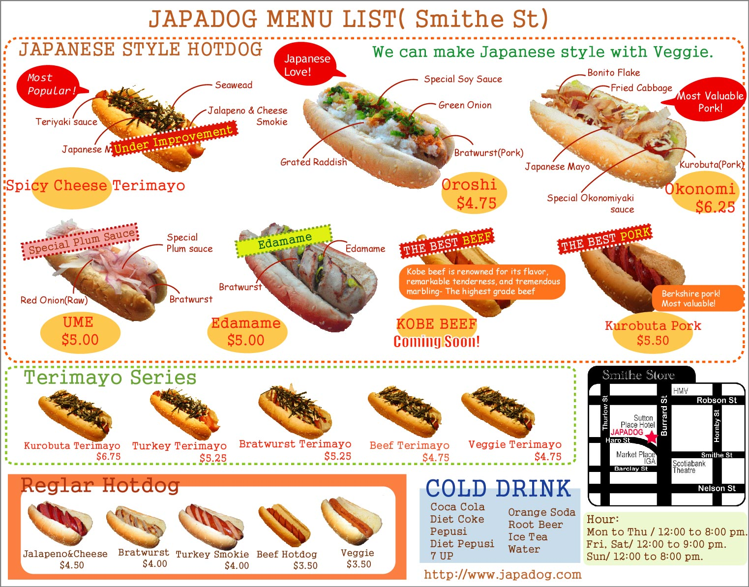 Different Words For Hot Dog