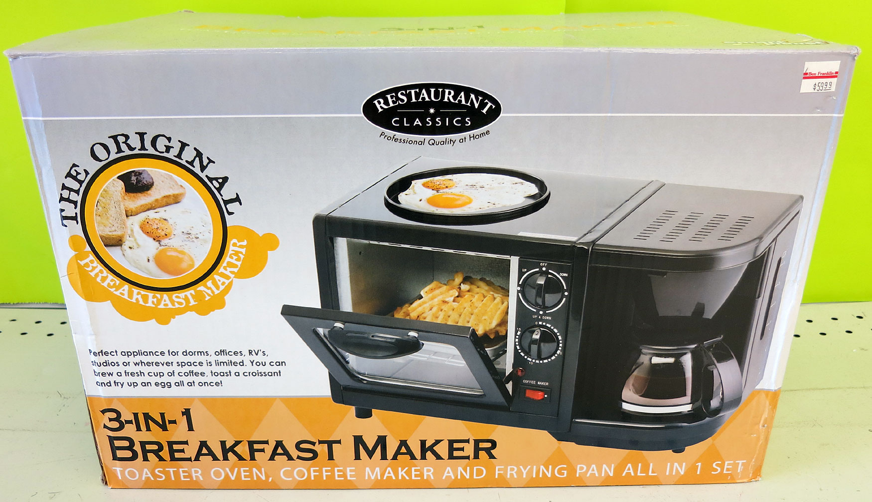 3 In 1 Breakfast Maker Tasty Island