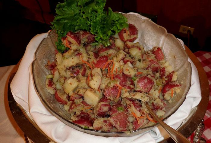 German Roasted Potato Salad Recipe — Dishmaps