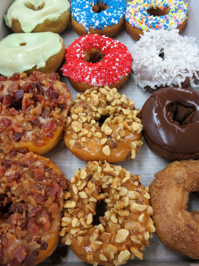 of bakery cafe donuts - photo #1