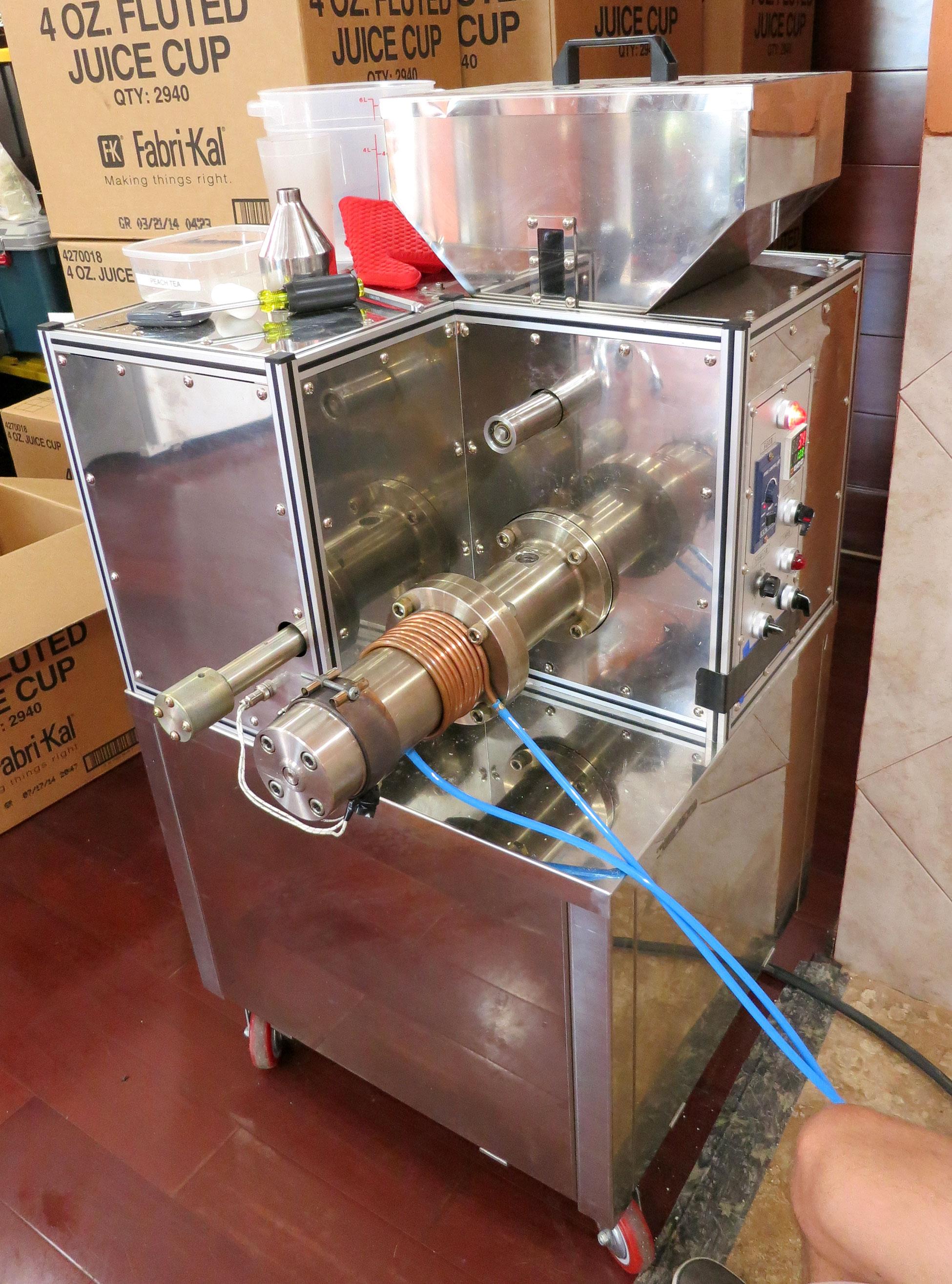 corn puff machine