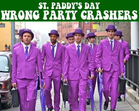 St. Patrick's Day Wrong Party Crashers