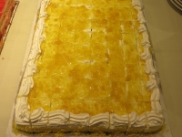 Lilikoi Chiffon Cake