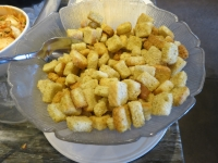Caesar Salad croutons
