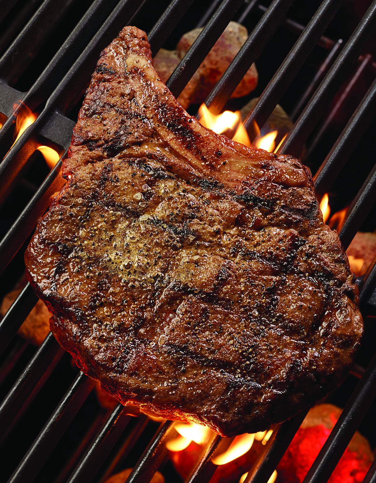 how to cook a cowboy ribeye