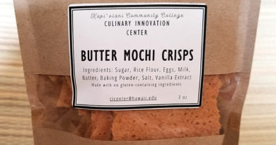 Review: KCC Culinary Innovation Center Butter Mochi Crisps