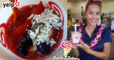 Jamba Juice Hawaii Introduces Watermelon Acai Bowl at Yelp Summer Cool Down