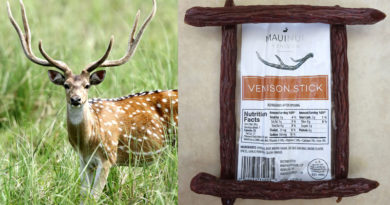 Review: Maui Nui Venison Sticks