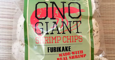 Review: Ono Giant Shrimp Chips Furikake