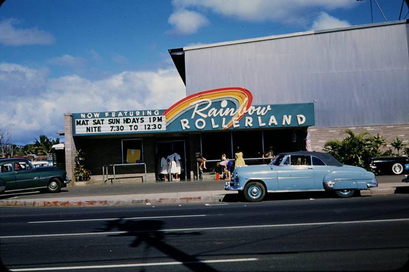 Rainbow Rollerland on Keeaumoku Street