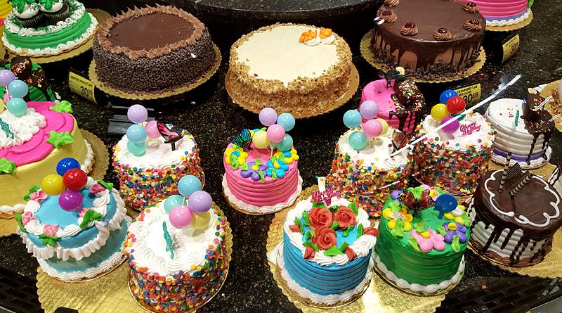 Safeway Cakes Tasty Island