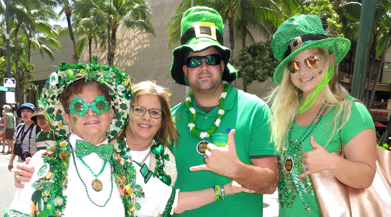 Coverage: 2017 Waikiki St. Patrick's Day Parade
