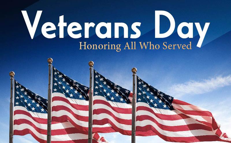 Veterans Day (observed) - Tasty Island